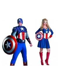 Disfraces temáticos Capitán América